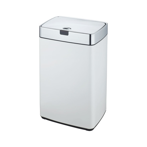 White 35L Rectangle Iris Sensor Bin