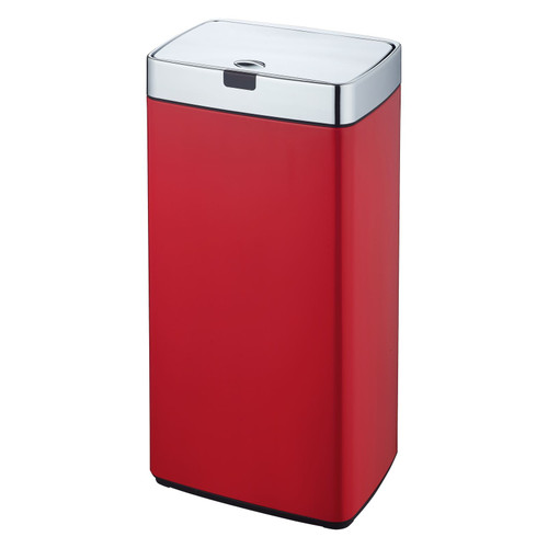 Red 45L Rectangle Iris Sensor Bin