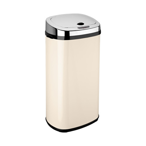 Cream 42L Rectangle Origin Sensor Bin