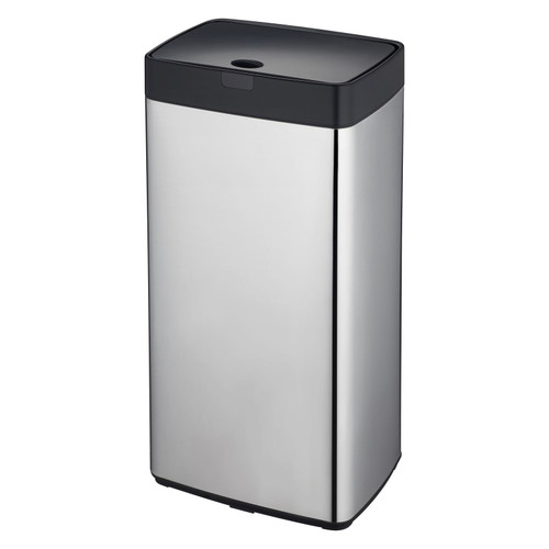 Chome 45L Rectangle Iris Sensor Bin
