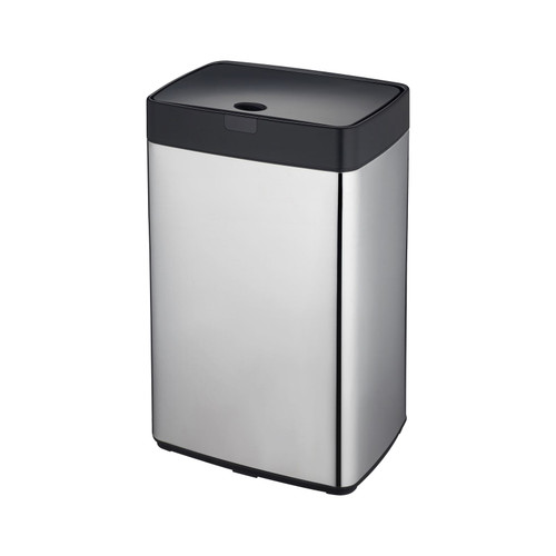 Chome 35L Rectangle Iris Sensor Bin