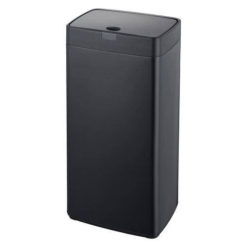 Black 45L Rectangle Iris Sensor Bin