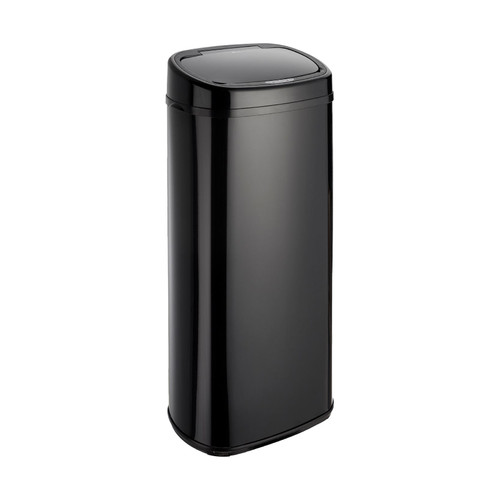 Black 68L Rectangle Onyx Sensor Bin