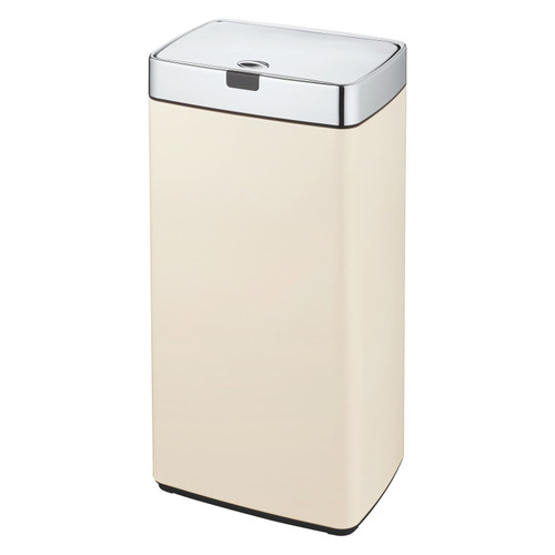 Cream 45L Rectangle Iris Sensor Bin