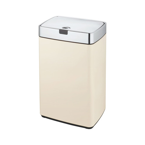 Cream 35L Rectangle Iris Sensor Bin