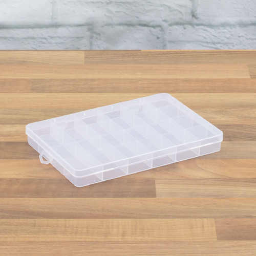 24 Compartment Tool Box Small Parts Case