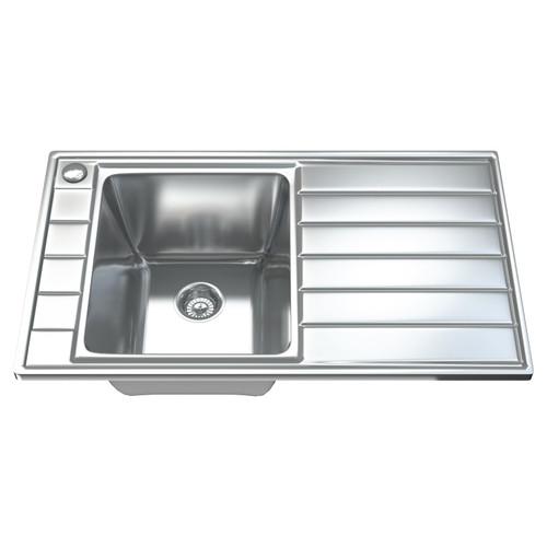 1041 Single Bowl Kitchen Sink with Waste