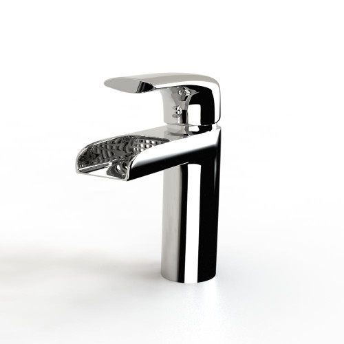 B039 Modern Waterfall Monobloc Bathroom Tap