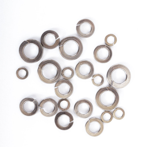 Split Spring Locking Washers A2 Stainless Steel DIN127 M4 to M12