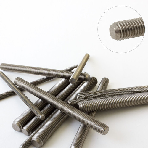 Fully Threaded Rod A2 Stainless Steel Bar Screw M5 DIN976 100mm to 1m