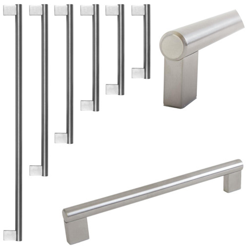 Boss Bar Stainless Steel Kitchen Drawer Furniture Handle 6 Sizes