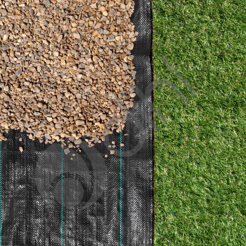 2m X 10m Heavy Duty Weed Membrane Fabric Landscape Garden Control