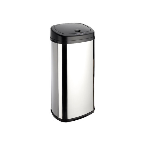 Chrome 42L Rectangle Onyx Sensor Bin