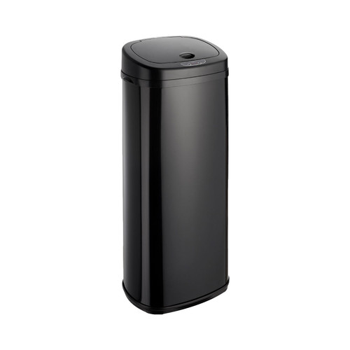 Black 50L Rectangle Onyx Sensor Bin