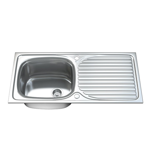 1003 Single Bowl Kitchen Sink with Waste