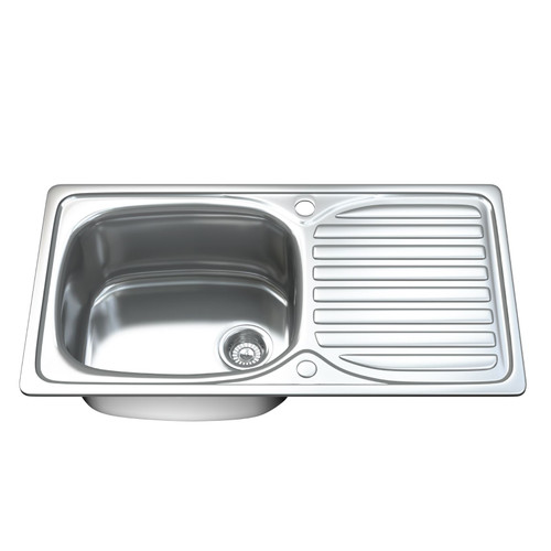 1004 Single Bowl Kitchen Sink with Waste