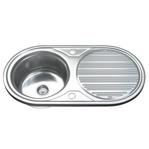 1062 Single Bowl Kitchen Sink with Waste