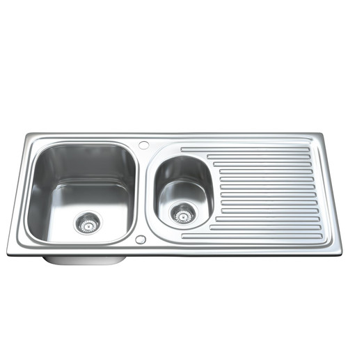 1502 1.5 Bowl Kitchen Sink with Waste