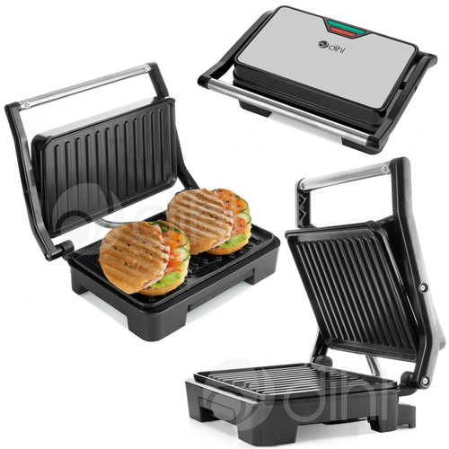 Dihl - Double Sandwich Toastie Maker Press Panini Grill Machine