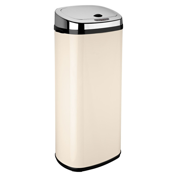 Cream 50L Rectangle Origin Sensor Bin