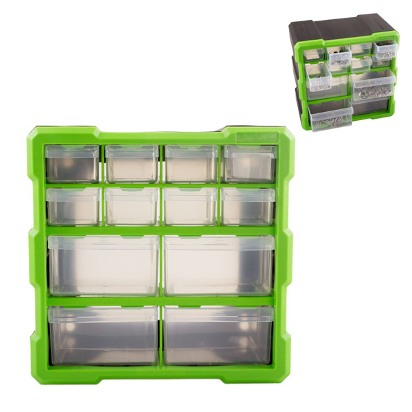 12 Drawer Tool & Fixing Storage Unit