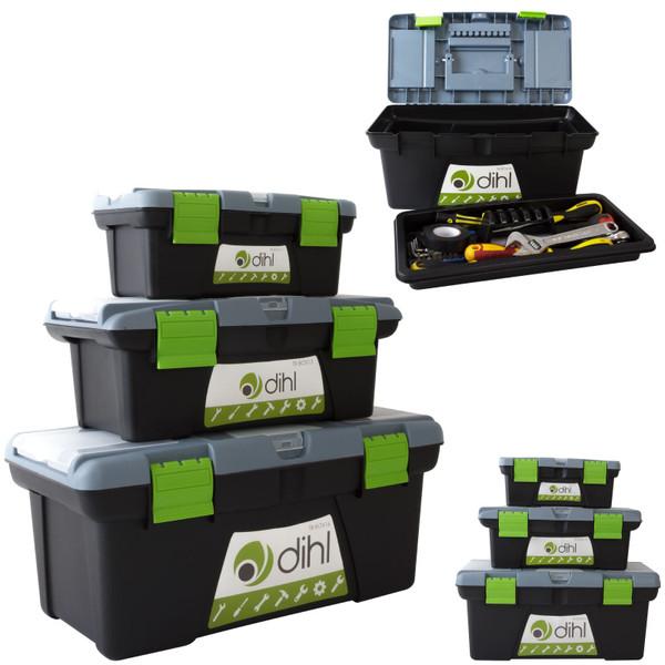 "Tool Box Set - 10""+13""+16"" TYH Green"