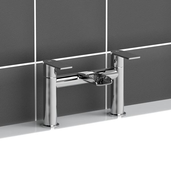 BM057 Modern Waterfall Monobloc Bathroom Twin Taps