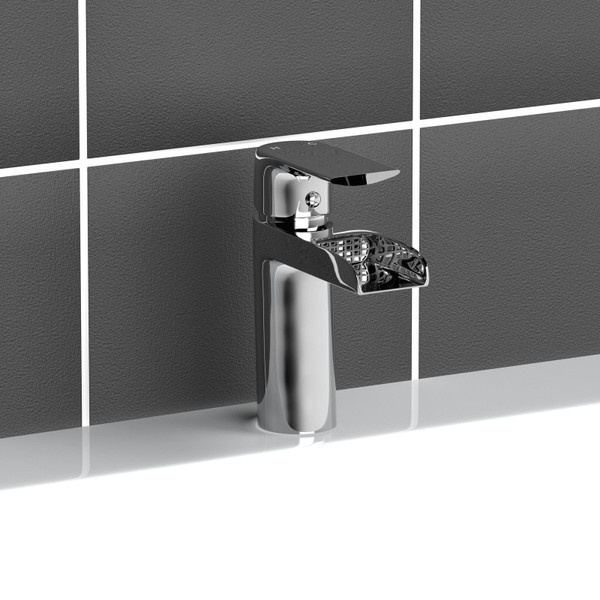 B039 Modern Waterfall Monobloc Bathroom Tap