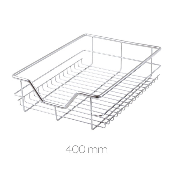 400mm Stainless Steel Chrome Wire Baskets