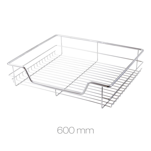 600mm Stainless Steel Chrome Wire Baskets