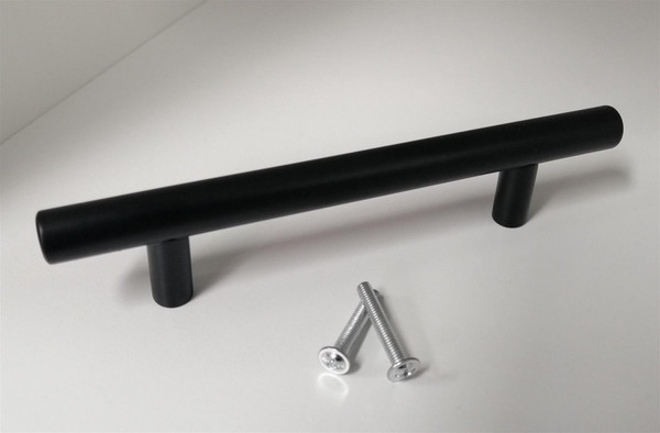 Black Stainless Steel T-Bar Handle 5 Sizes