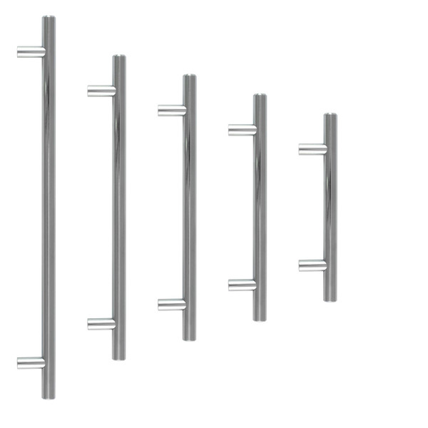 Chrome T-Bar Kitchen Drawer Handle Pull 5 Sizes