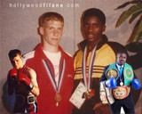 Domenic Filane and Justin Juuko - Commonwealth Games 1990 Memories - Ugandan Destroyer and Hollywood Filane