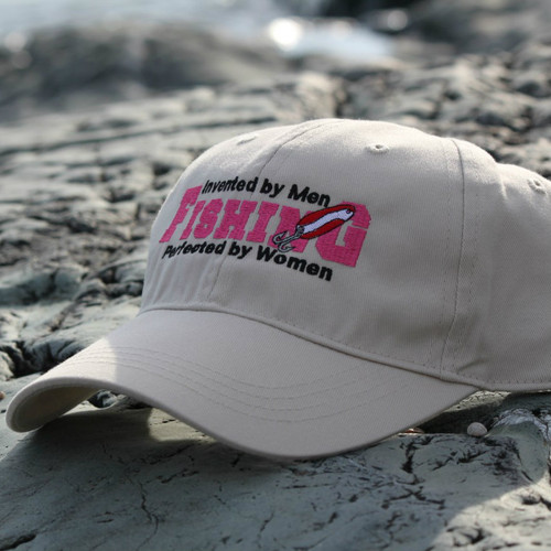 Fishing Perfected by Women Hat- Biege