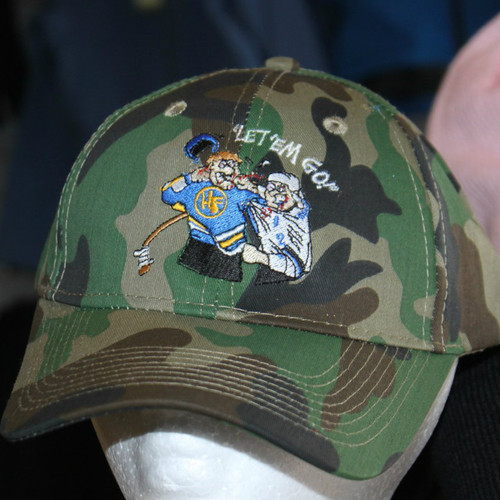 Hockey Fighter Let em' Go Camo hat