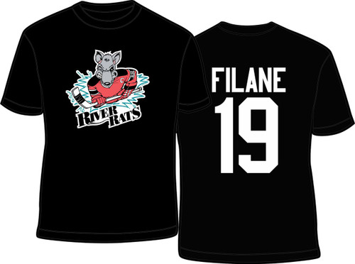 Personalize the tee with your name and number printed on the back