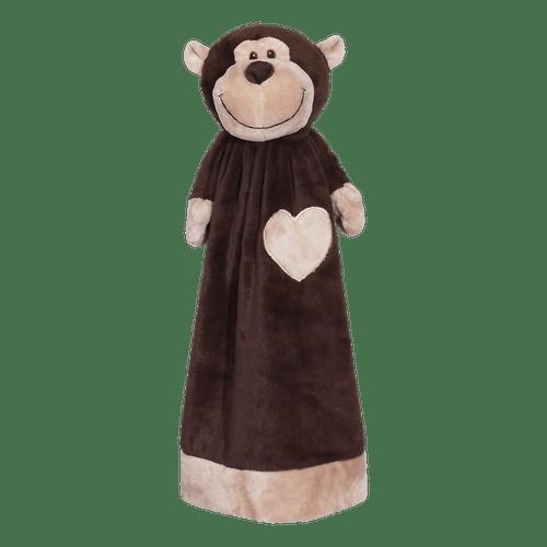 Blankey Buddy Monty Monkey - Personalized embroidered blanket