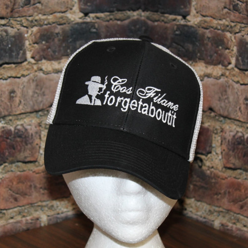 Cosimo Filane Forgetaboutit! Trucker style hat.
