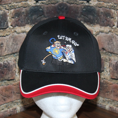 Hockey Fighter headwear - Let em Go by Hollywoodfilane.com