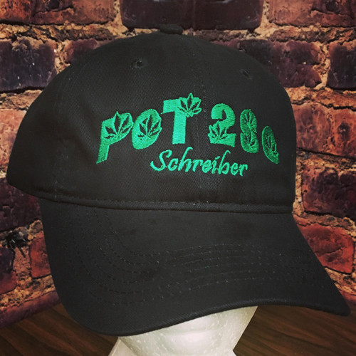 P0T2S0 Marijuana hat - aka POT aka Cannibas