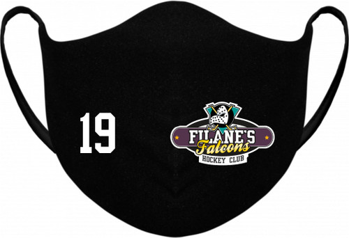 Filane's Falcons Hockey Club Reusable Fabric Face Masks