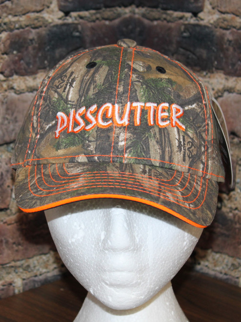 Realtree Pisscutter camo hat by Hollywood Filane #pisscutter