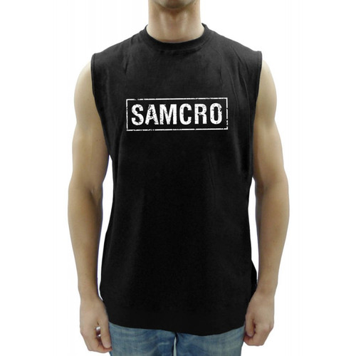 SAMCRO-Sons of Anarchy Sleeveless t-shirt