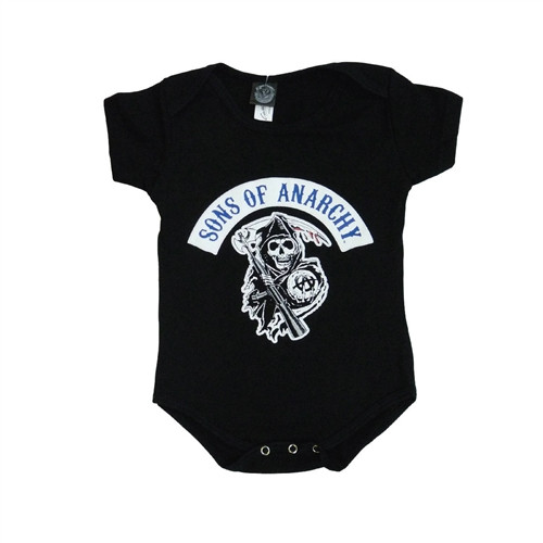 Sons of Anarchy Onesie SOA logo creeper