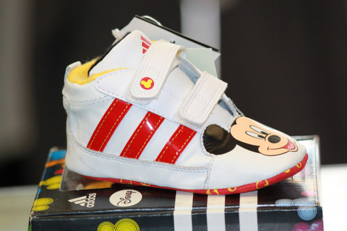 Adidas Disney Crib shoe- Red