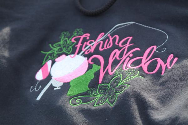 Fishing Widow Hooded Sweatshirt