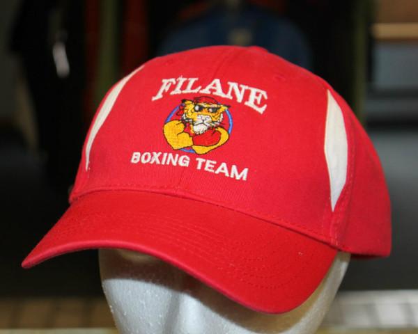 Filane Boxing Team Tuff Guy Tiger Mascot Hat