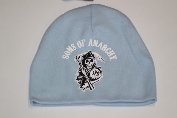 Light blue Baby Sons of Anarchy beanie