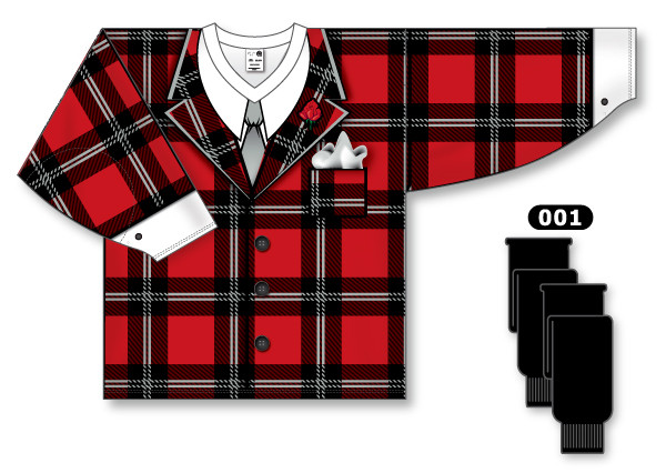 Don Cherry Grapes sublimated tuxedo suit Hockey Jersey