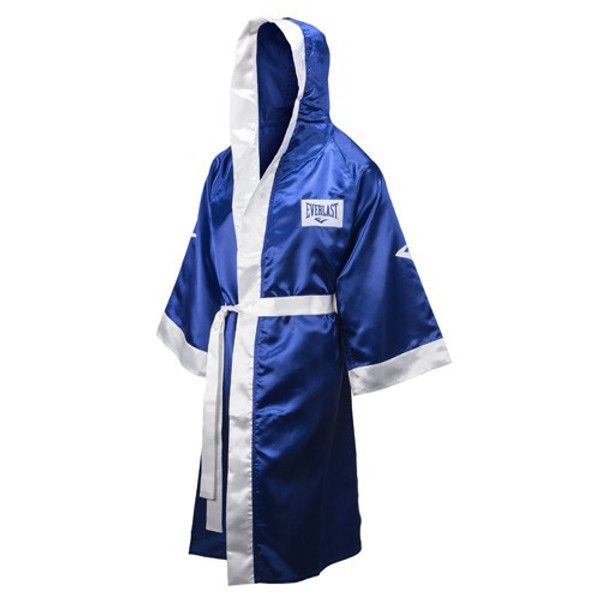 Personalized Everlast Boxing Full Length Robe with hood Custom Embroidered